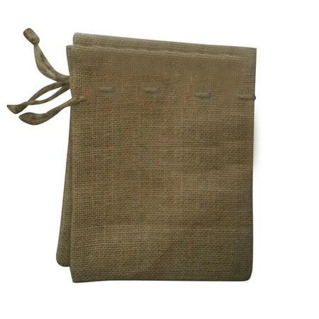 Creative Essentials Burlap Craft Bags Cinch Bag - Walmart.com