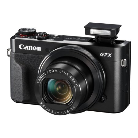 Canon PowerShot G7 X Mark II - Video Creator Kit - digital camera - compact - 20.1 MP - 1080p / 59.95 fps - 4.2x optical zoom - Wi-Fi, NFC