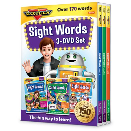 ROCK N LEARN SIGHT WORDS 3 DVD SET ()