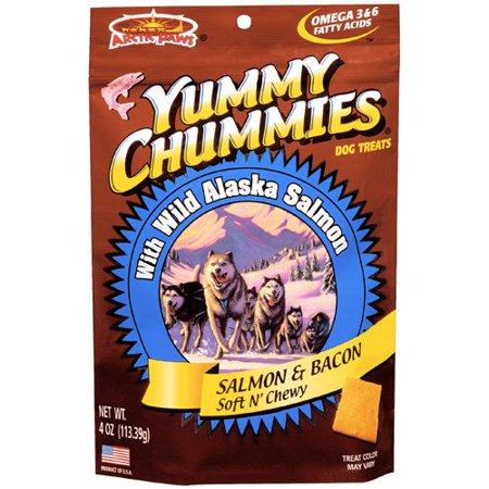 Yummy Chummies Bacon Flavor Dog Treat, 4 oz](Yummy Halloween Treats)