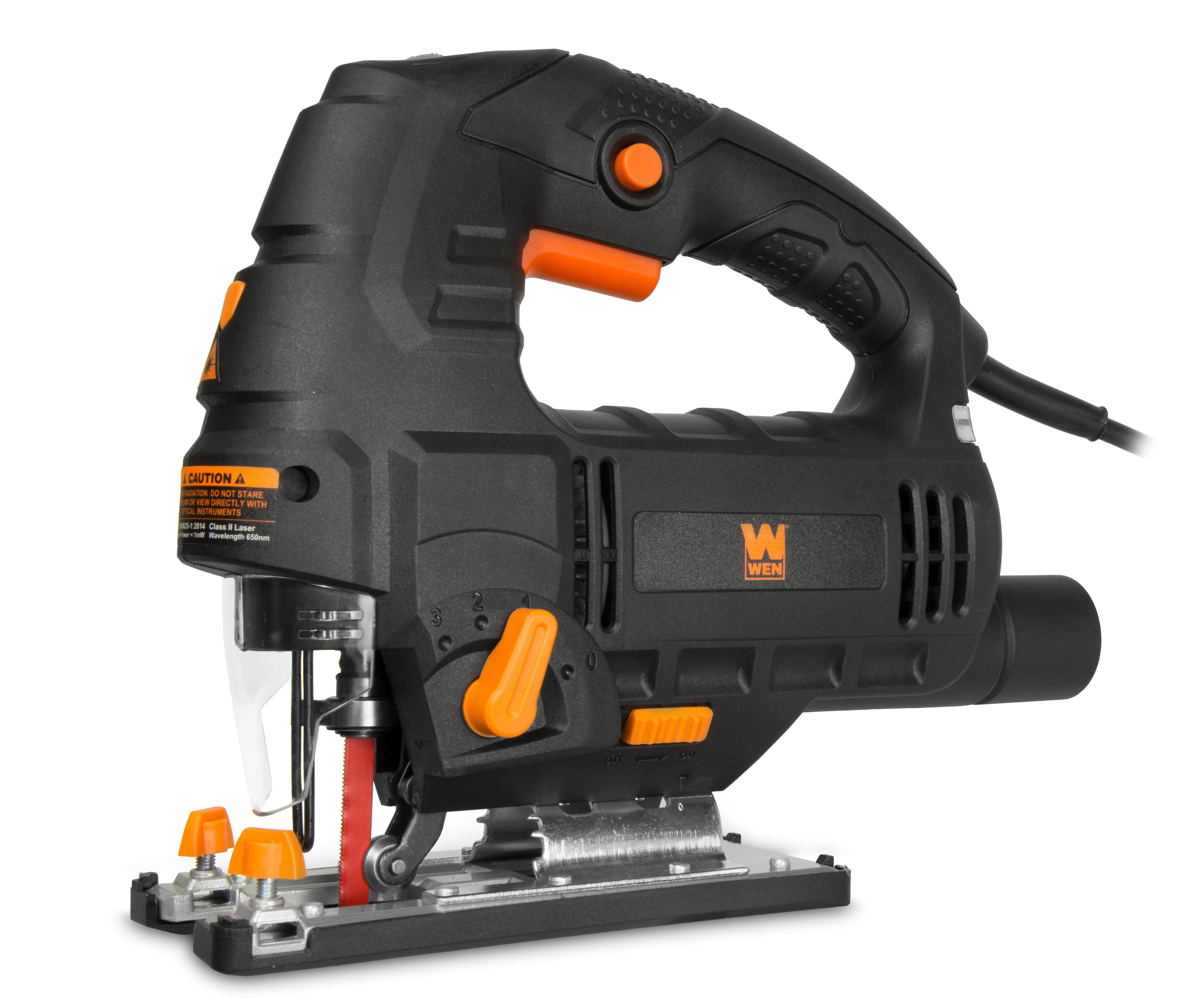 WEN 6.6-Amp Variable Speed Orbital Jig Saw with Laser and LED Light by WEN