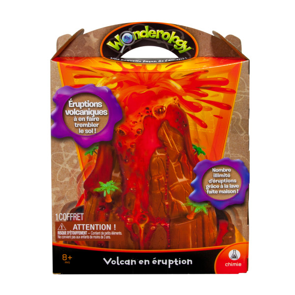Wonderology Science Kit Shake Quake Volcano
