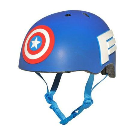 Bell Marvel Captain America Bike Helmet, Child 5+ (50-54cm) (Helmet Motorcycle Captain America)