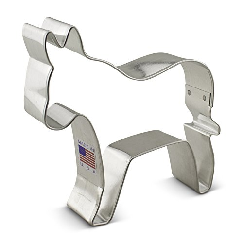Ann Clark Democratic Donkey Cookie Cutter - 3.75 Inches - Tin Plated Steel