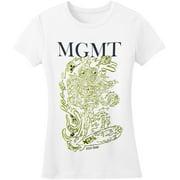 MGMT  Girl's Surf Girls Jr Soft tee White