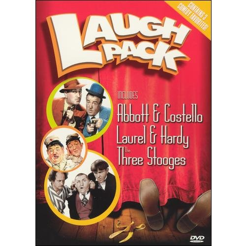 Laugh Pack (includes Abbott & Costello, Laurel & Hardy, and The Three Stooges) by GAIAM INC