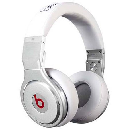 Beats By Dr. Dre White Pro Over-Ear Headphones from Monster by
