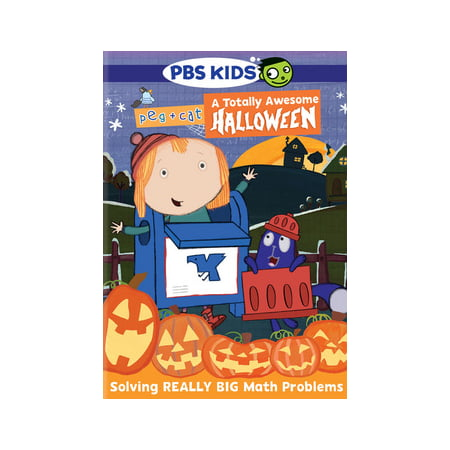 Pbs Kids Halloween Dvd.Peg Cat A Totally Awesome Halloween Dvd