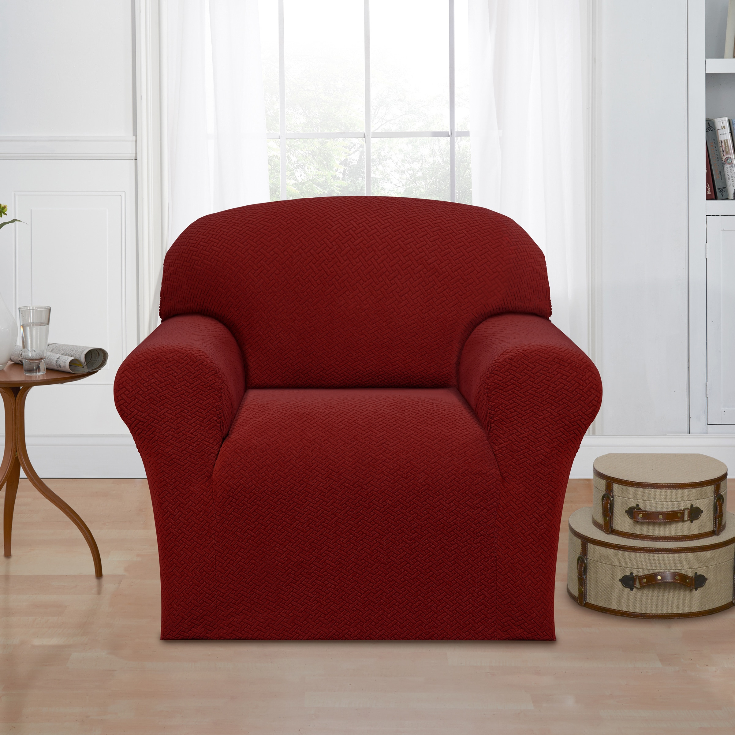 Madison Mason Stretch Slipcover, Chair