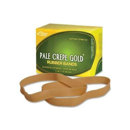 Pale Crepe Gold Rubber Band ALL21079