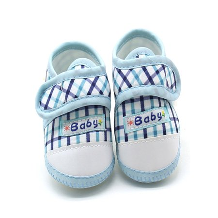 Newborn InfantBaby Boys Girls Soft Sole Prewalker Warm Casual Flats - Flower Girl Purple Shoes