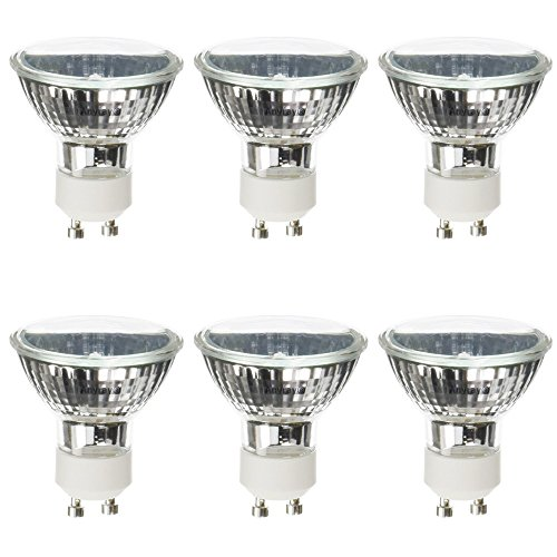 (6)-Pack for Range Hood Kitchen 50W Light Bulbs 50-Watts Anyray