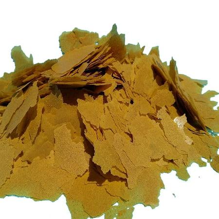 Aquatic Foods Goldfish Flakes - Premium Tropical Fish Foods - 1/4-lb ()