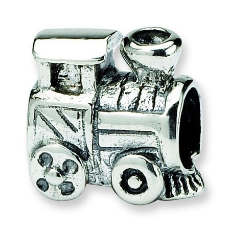 Sterling Silver Reflections SimStars Kids Train Bead Charm