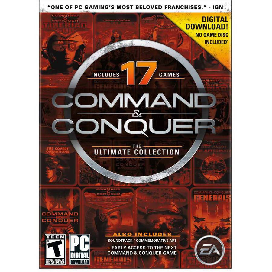 Electronic Arts Command & Conquer The Ultimate Collection (Digital Code)