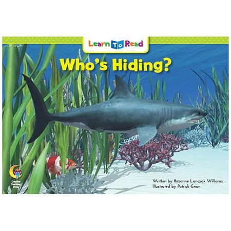 Whos Hiding? Learn To Read - image 1 de 1