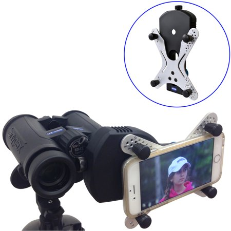 Snypex X-Wing SPA1 Universal Smartphone Adapter for Binoculars & Spotting Scopes also Digiscopes, Telescopes & Microscopes