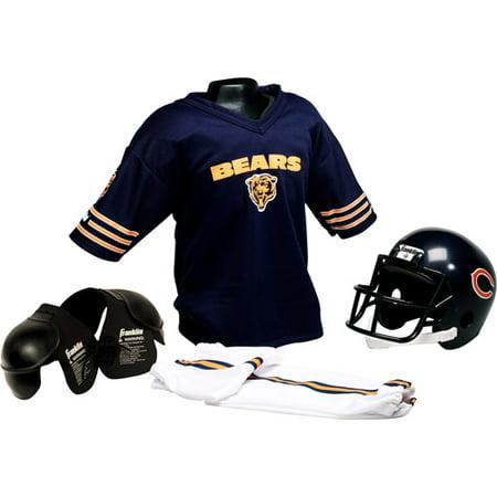 Franklin Sports NFL Helmet and Uniform Set Chicago Bears - Walmart.com 6e667d8fc