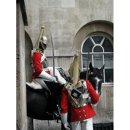 LAMINATED POSTER Guards London English Horse Poster Print 24 x 36 - English Gaurd