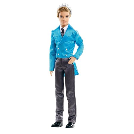Mattel Barbie Princess Pop Star Prince Liam Doll