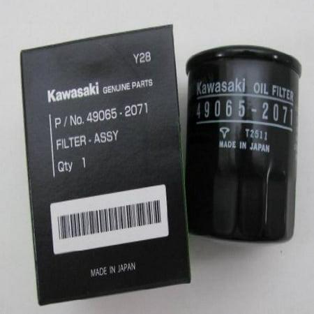kawasaki oem oil filter 49065 2071 mule 4000 4010 trans. Black Bedroom Furniture Sets. Home Design Ideas