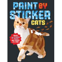 Paint by Sticker: Cats - Paperback