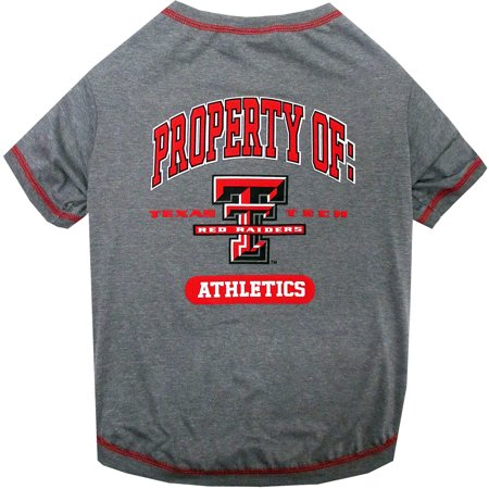 Pets First Collegiate Texas Tech Red Raiders Pet T Shirt  Assorted Sizes