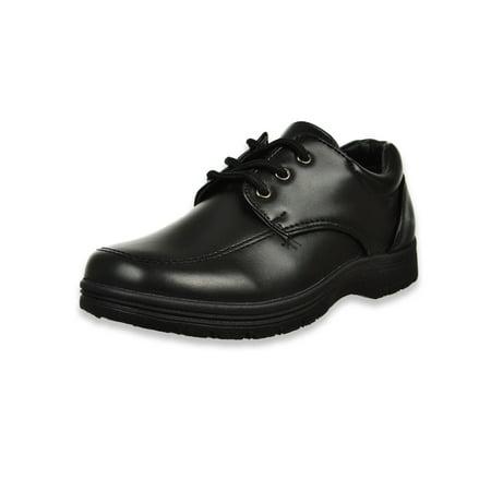 Joseph Allen Boys' Lace-Up School Shoes (Sizes 11 - 4) (Boys Size 4 Shoes Nike)