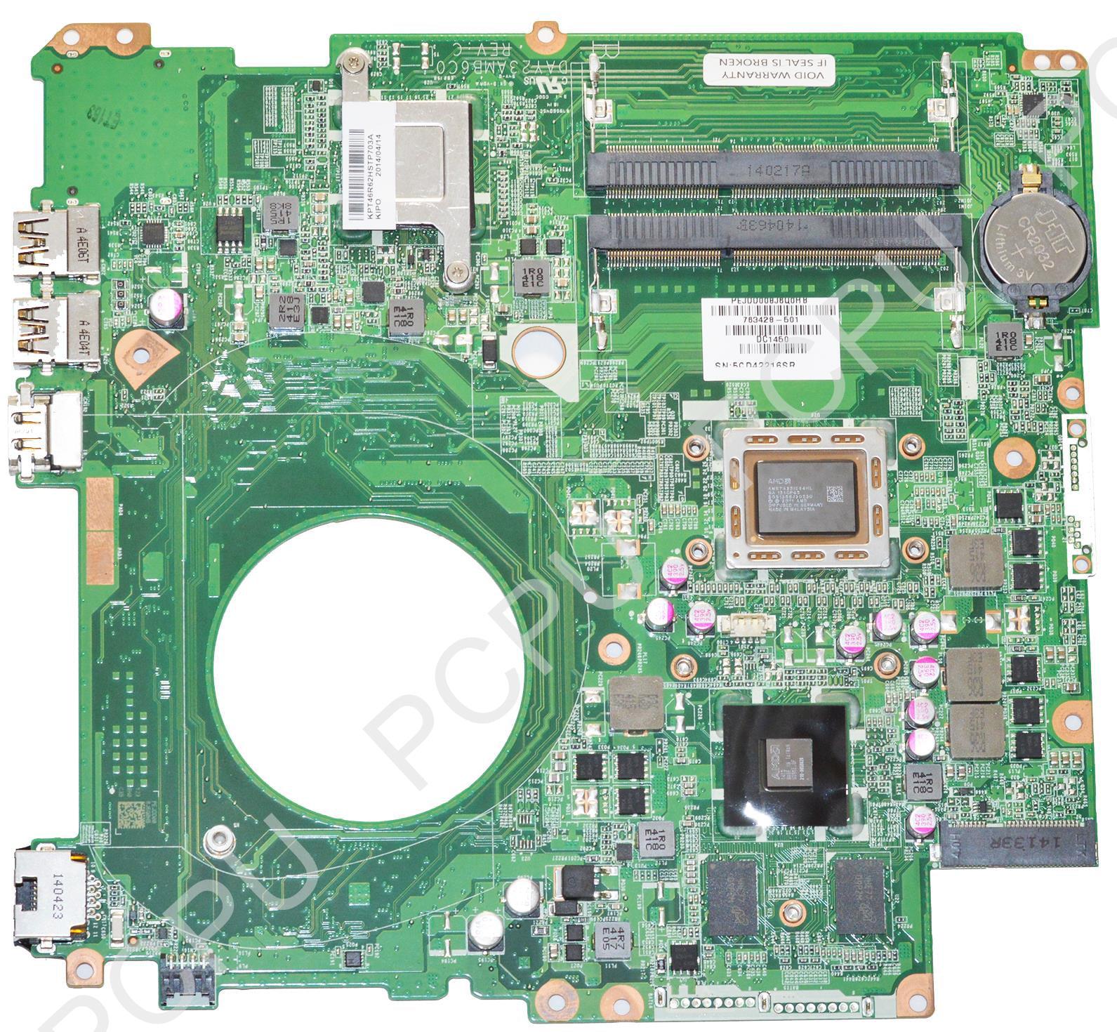 763428-501 HP Touchsmart 15-N Laptop Motherboard 260M/2GB...
