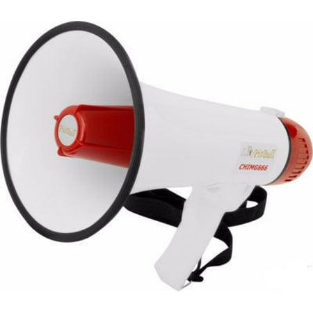 Hand-Held Electronic Bull Horn Mega Phone Bullhorn Siren Megaphone Loud Speaker