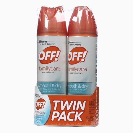 Off  Familycare Insect Repellent I Smooth   Dry  2 Count  4 Ounces