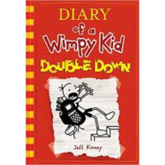 Ages 9 12 childrens books walmart diary of a wimpy kid double down book 11 hardcover solutioingenieria Choice Image