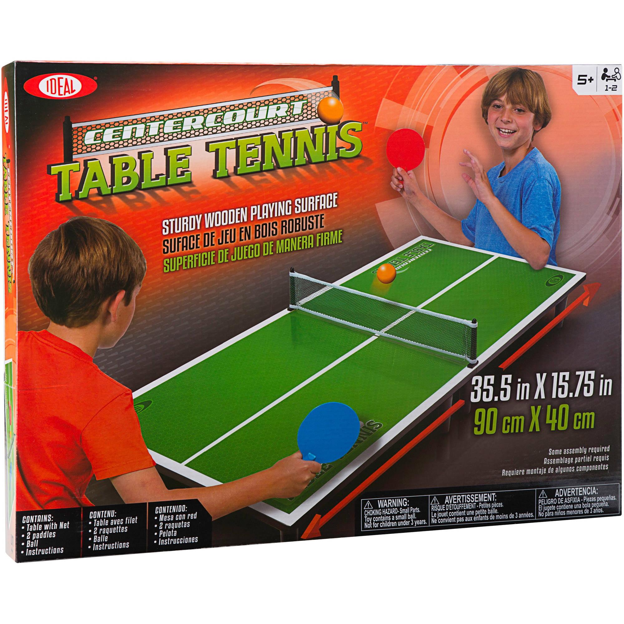 Ideal Centercourt Ping Pong by Alex Brands