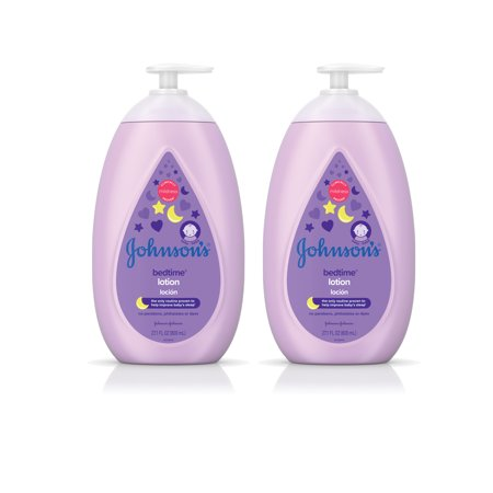 Johnson's Bedtime Calming Baby Lotion, Twin-Pack, 2 x 27.1 fl. oz ()