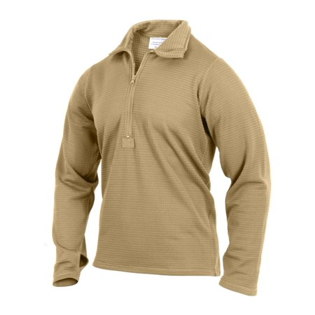 Arcteryx Theta Ar Jacket (Rothco Gen-III ECWCS Level II Thermal Top, AR 670-1 Compliant Coyote Brown,)
