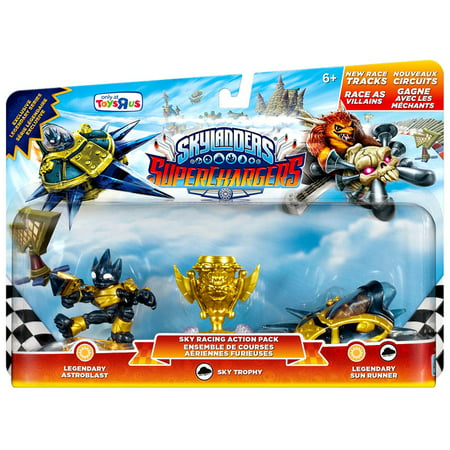 Sky Racing Action Pack Legendary Astroblast, Sky Trophy & Legendary Sun Runner