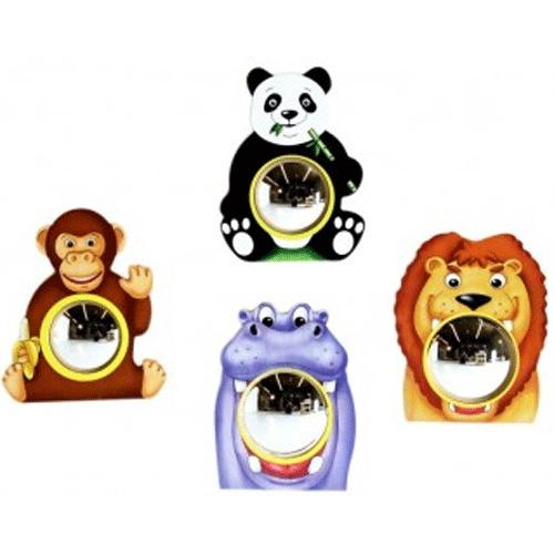 Anatex Animal Friends Wall Mirrors (Set of 4) by Anatex