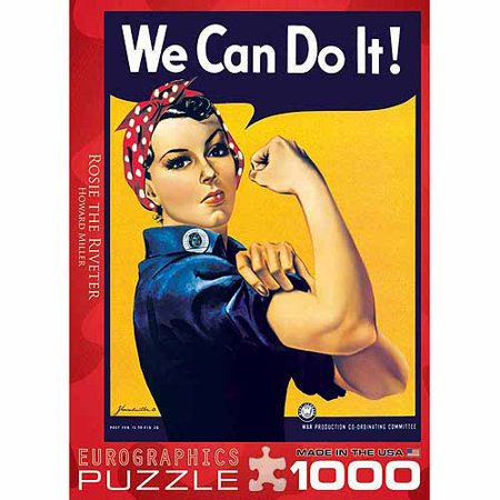 EuroGraphics Rosie The Riveter 1000-Piece Puzzle