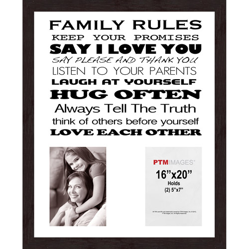 Family Rules VI Picture Frame