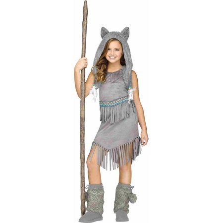 Wolf Dancer Child Halloween Costume (Can Can Dancer Costumes)