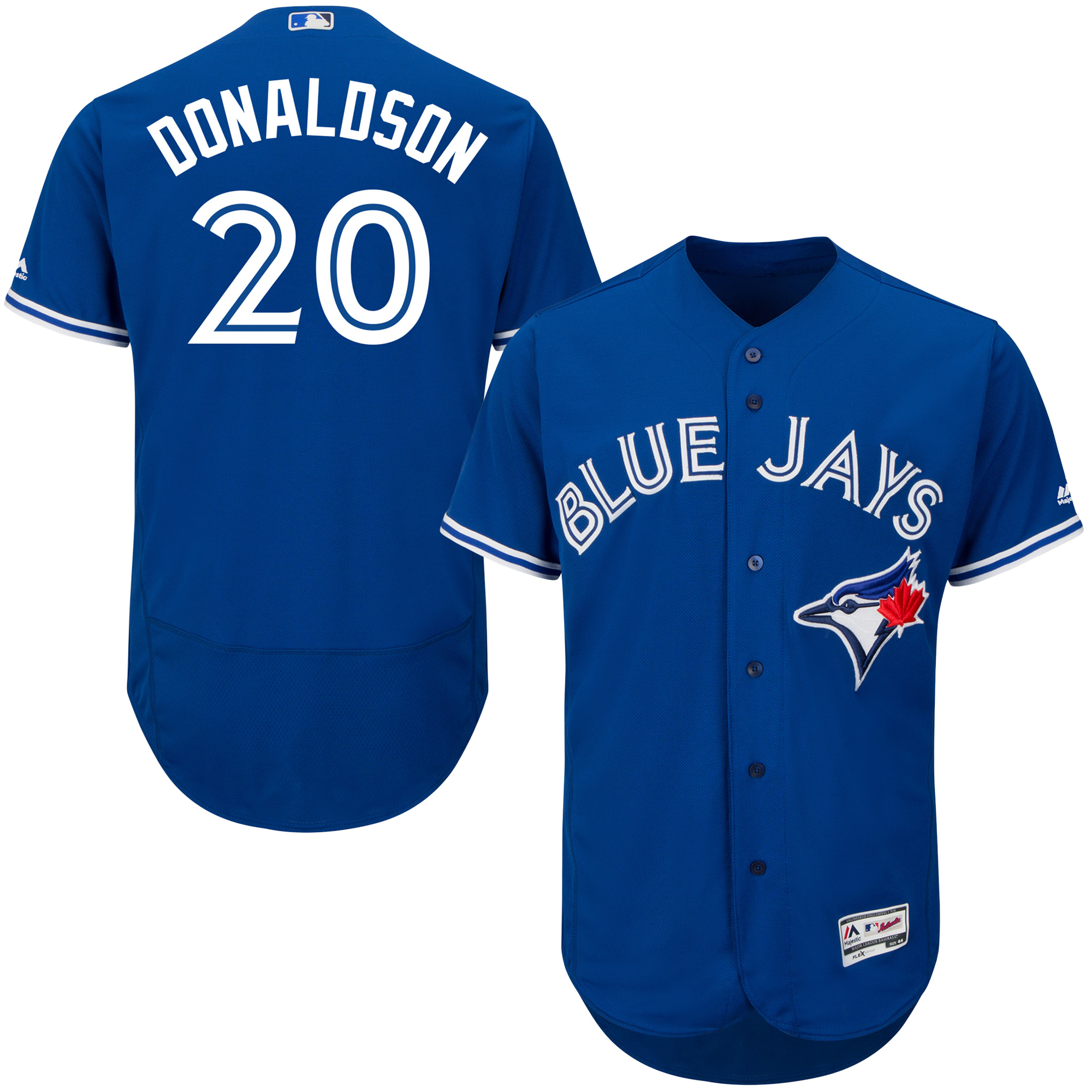 Josh Donaldson Toronto Blue Jays Youth Official Cool Base Player Jersey - Royal