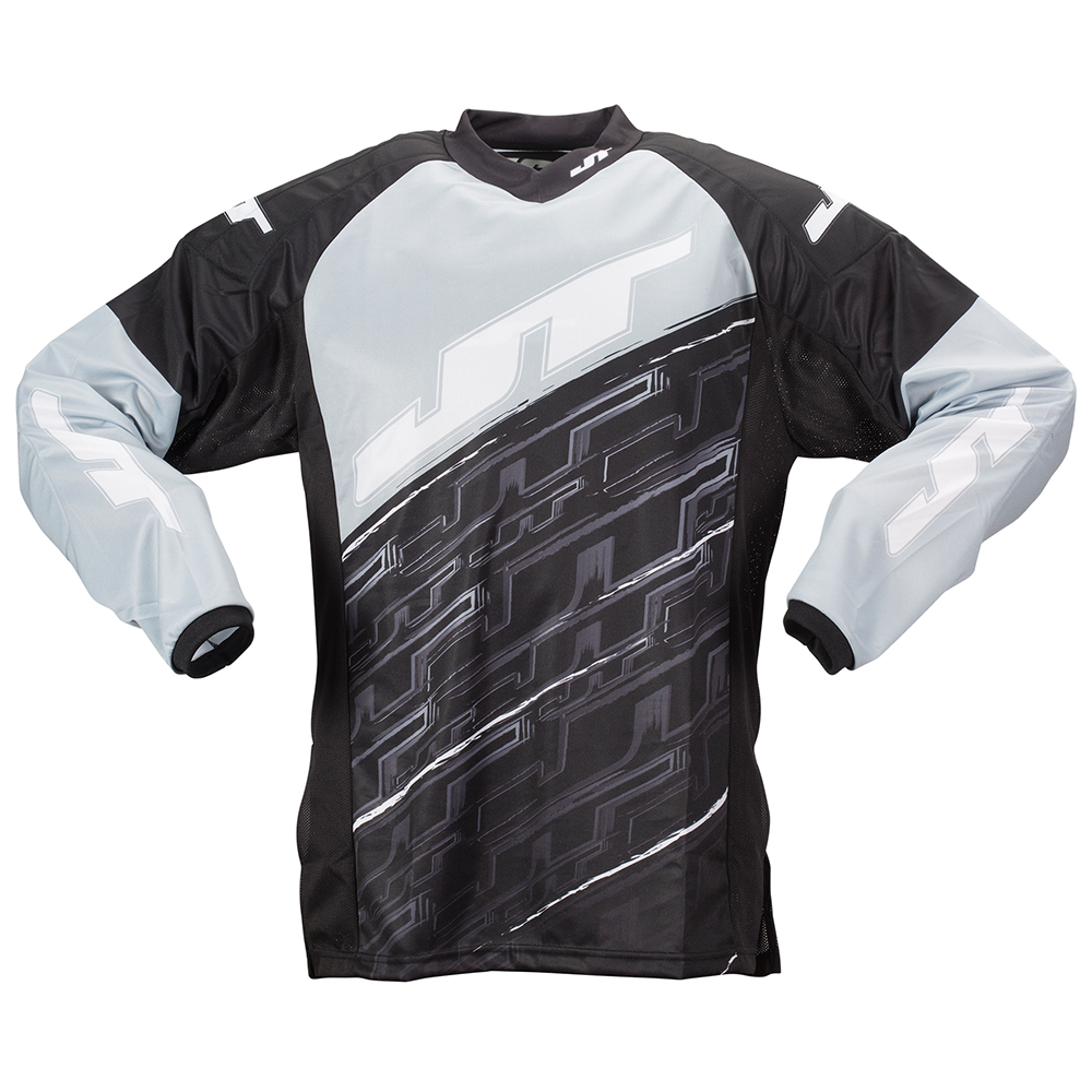2015 JT Tournament Paintball Jersey - Grey - 3X-Large
