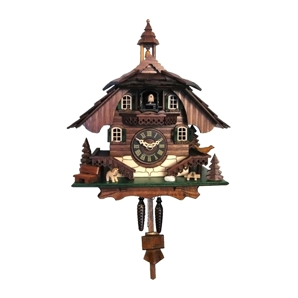 "Alexander Taron Engstler Battery-operated Cuckoo Clock Full Size -10.5""H x 9""W x 6.5""D by Alexander Taron"