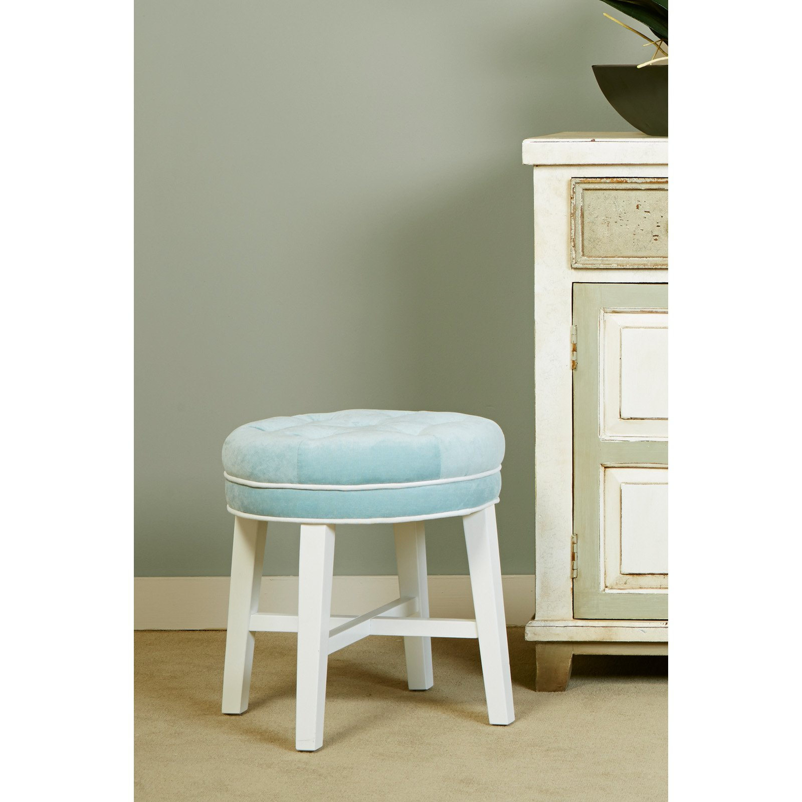 Hillsdale Furniture Sophia Vanity Stool Walmart Com
