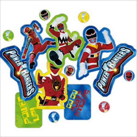 power rangers mystic force confetti