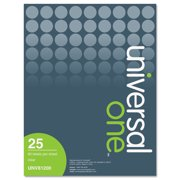Inkjet Printer Labels, 1/2 x 1-3/4, Clear, 80/Sheet, 2000/Pack