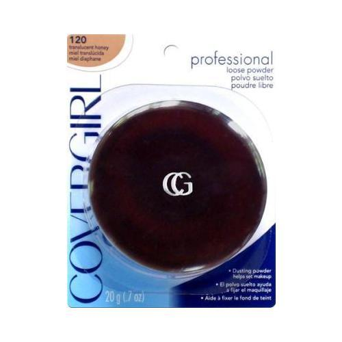 CoverGirl Professional Translucent Face Powder Translucent Honey(N) 120, 0.7 Ounce Shaker top jar