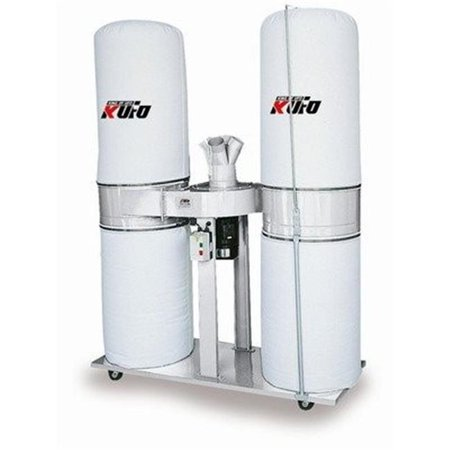 Kufo Seco 3 HP 2750 CFM 1-Phase 220V Vertical Bag Dust (Delta 50 760 Dust Collector Replacement Bags)