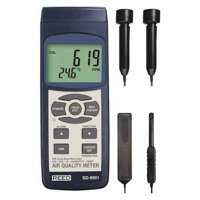 REED INSTRUMENTS Indoor Air Quality Analyzer,LCD SD-9901