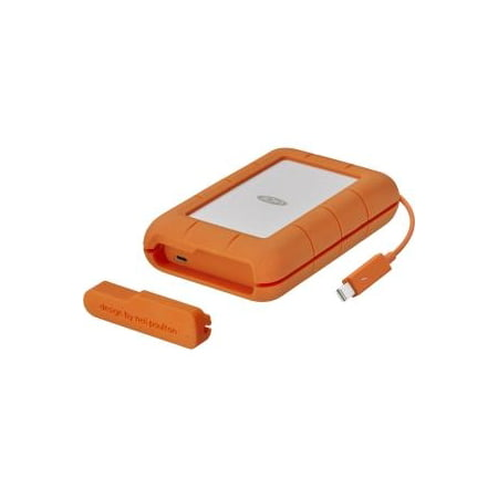 - LaCie 5TB Rugged Mobile Hard Drive (Thunderbolt & USB 3.0 Type-C)
